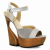 SWAN-612 Taupe Leather/Suede